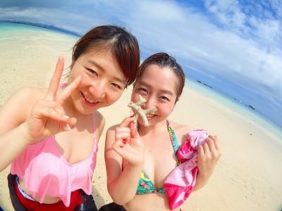 竹富島でのダイビング体験は、どこまでも澄み渡る開放感がたまらない!