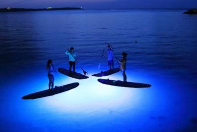 沖縄でアクティビティ SUPだから楽しめる、サンセット〜ナイトSUPの魅力!